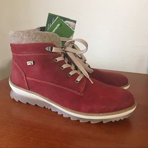 Remonte High Top Burgundy Shoes